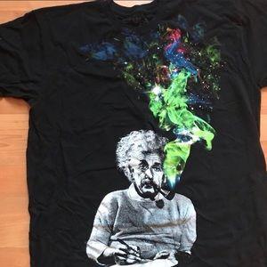 Green Envelope Shirts - Albert Einstein T Shirt